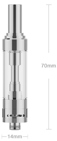 GS Air 2 Atomizer Parameter