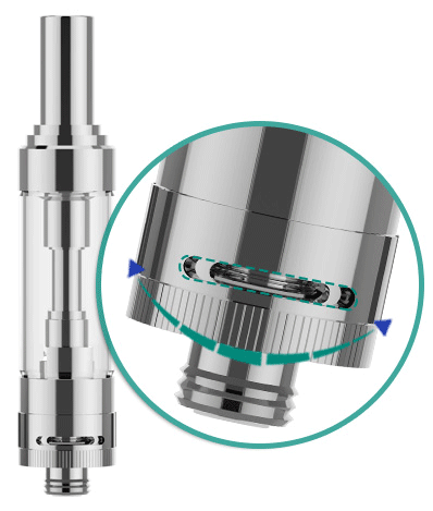gs air 2 04 - GS Air 2 Atomizer (14mm) 2ml
