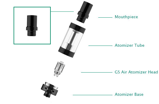 GS Air 2 Atomizer Mouthpiece