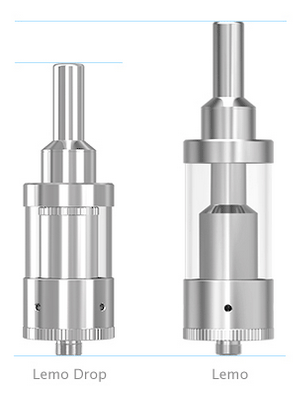Lemo Drop Rebuildable Atomizer Size Difference