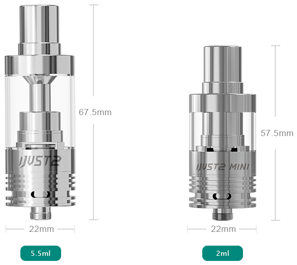 iJust2 Atomizer Parameter