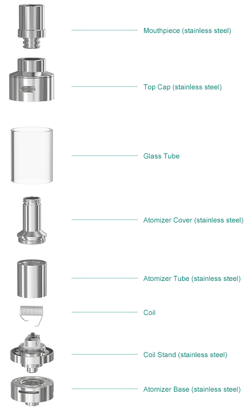 Lemo 2 Atomizer Breakdown