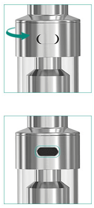 Lemo 2 Atomizer E-liquid Fill Hole 1