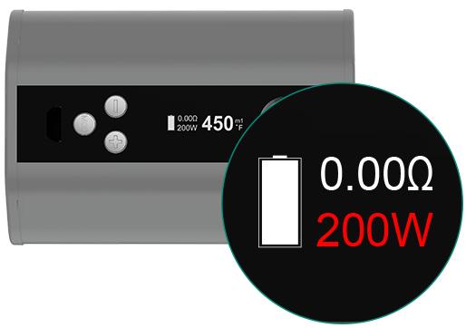 iStick TC200W Parameter