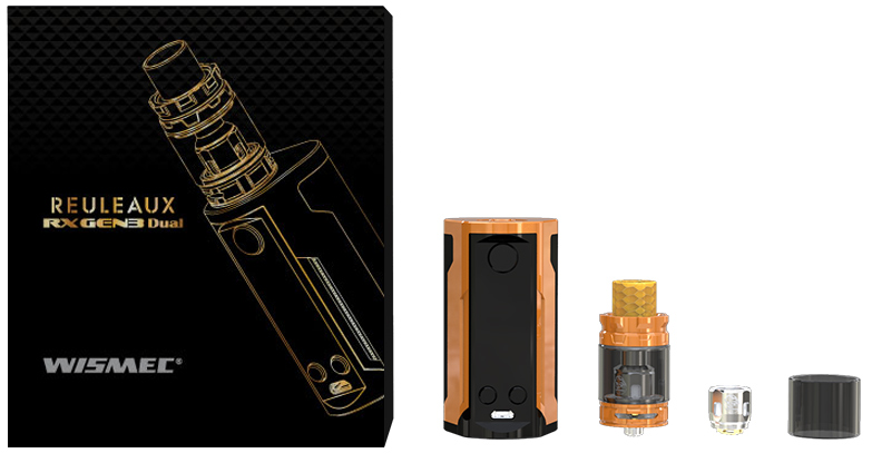 Wismec Reuleaux RX GEN3 Dual with GNOME King Starter Vape Kit