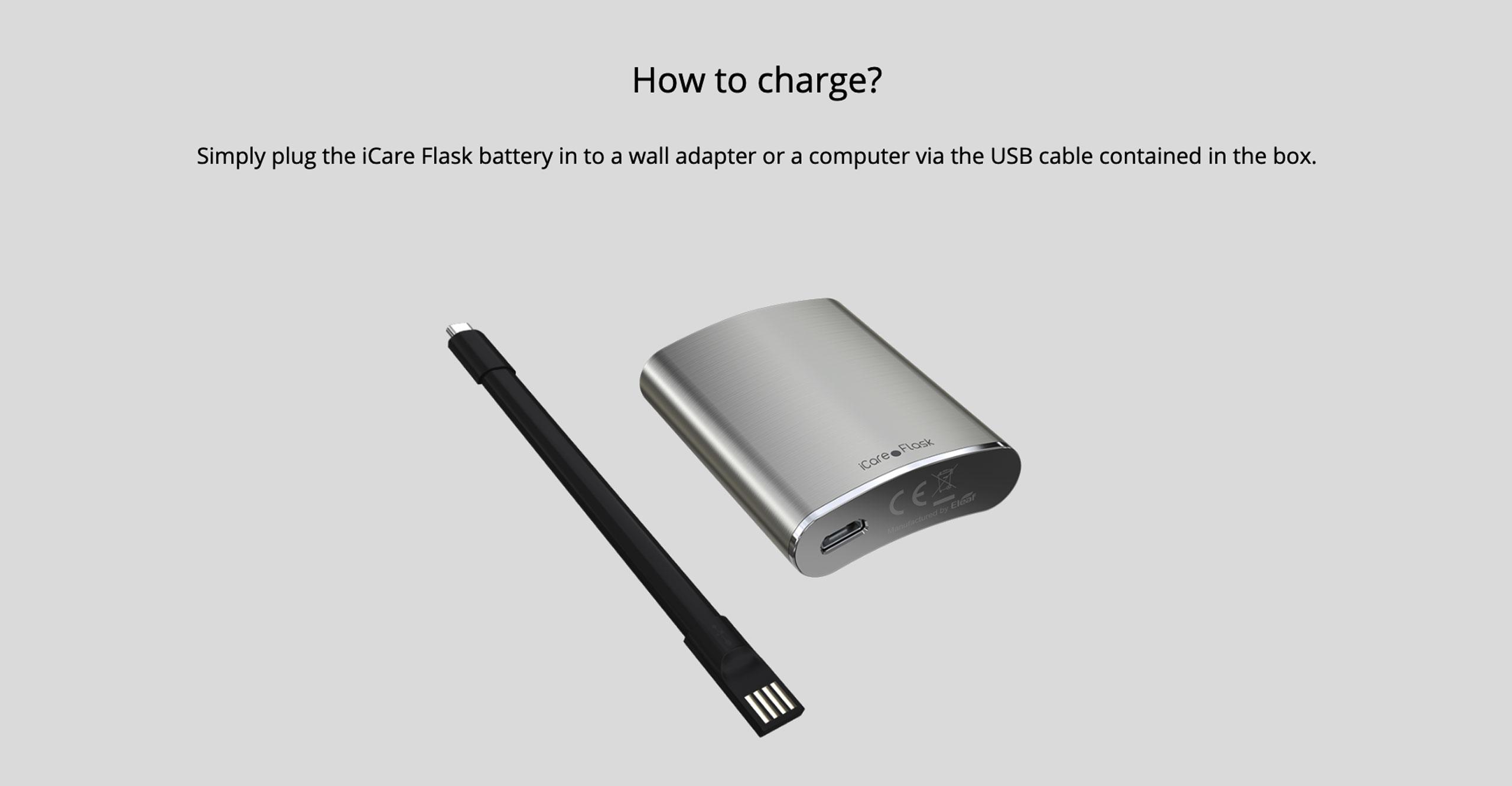 iCare Flask Kit
