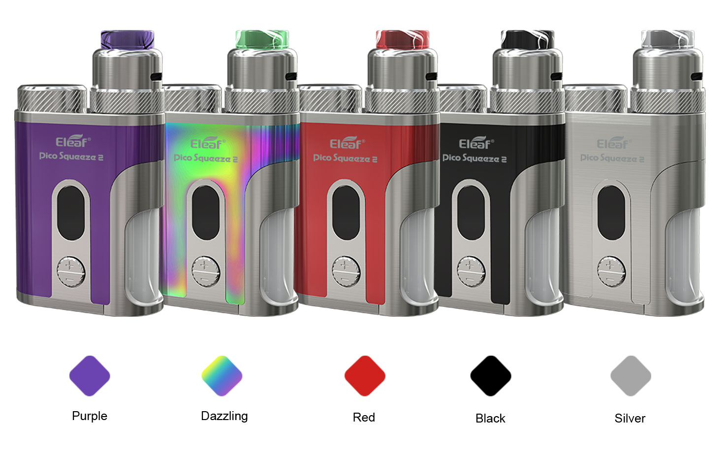 Eleaf Pico Squeeze 2 with Coral 2 Starter Kit